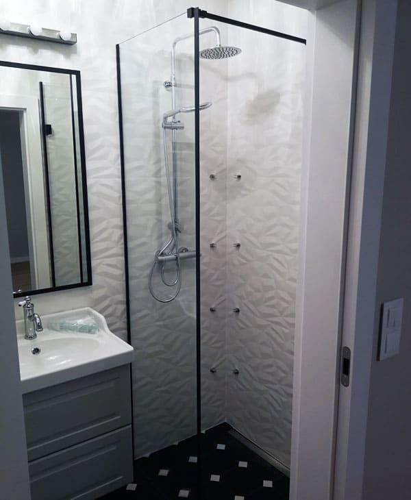 scianka prysznicowa na wymiar