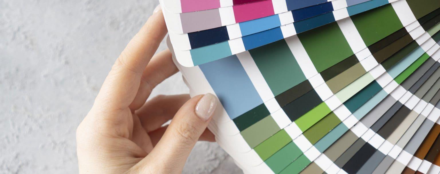 paleta kolorow lakierowanego szkla